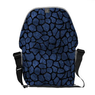 SKIN1 BLACK MARBLE & BLUE STONE COMMUTER BAGS