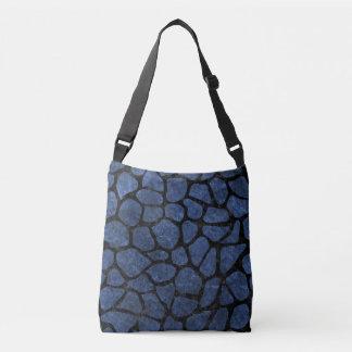 SKIN1 BLACK MARBLE & BLUE STONE CROSSBODY BAG