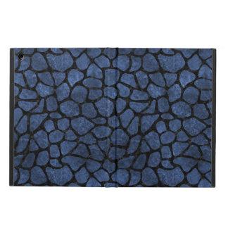 SKIN1 BLACK MARBLE & BLUE STONE iPad AIR CASE