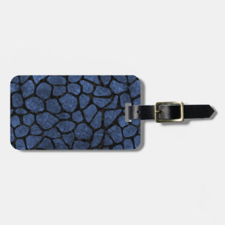 SKIN1 BLACK MARBLE & BLUE STONE LUGGAGE TAG