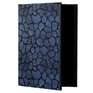 SKIN1 BLACK MARBLE & BLUE STONE POWIS iPad AIR 2 CASE