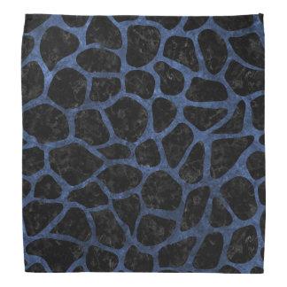 SKIN1 BLACK MARBLE & BLUE STONE (R) BANDANA