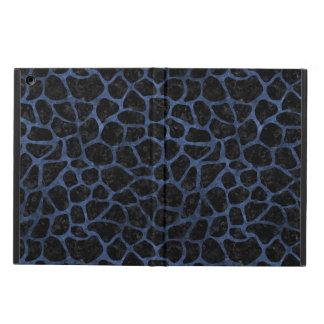 SKIN1 BLACK MARBLE & BLUE STONE (R) iPad AIR COVER