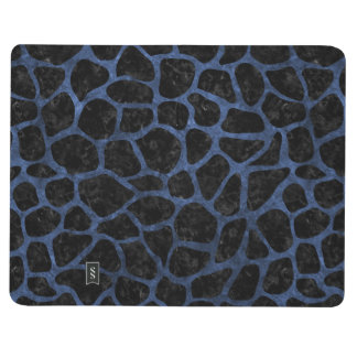 SKIN1 BLACK MARBLE & BLUE STONE (R) JOURNAL