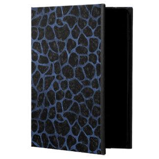 SKIN1 BLACK MARBLE & BLUE STONE (R) POWIS iPad AIR 2 CASE