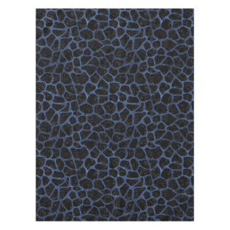 SKIN1 BLACK MARBLE & BLUE STONE (R) TABLECLOTH