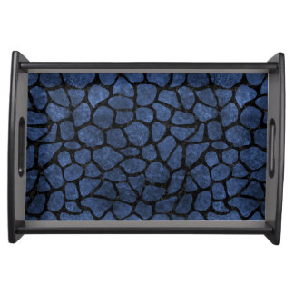 SKIN1 BLACK MARBLE & BLUE STONE SERVING TRAY
