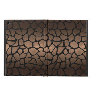 SKIN1 BLACK MARBLE & BRONZE METAL CASE FOR iPad AIR
