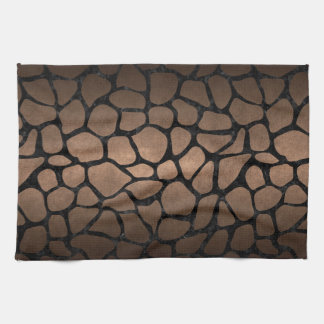 SKIN1 BLACK MARBLE & BRONZE METAL KITCHEN TOWEL