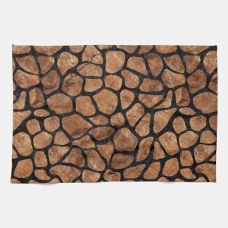 SKIN1 BLACK MARBLE & BROWN STONE KITCHEN TOWEL