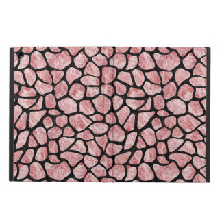 SKIN1 BLACK MARBLE & RED & WHITE MARBLE CASE FOR iPad AIR