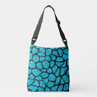 SKIN1 BLACK MARBLE & TURQUOISE MARBLE CROSSBODY BAG
