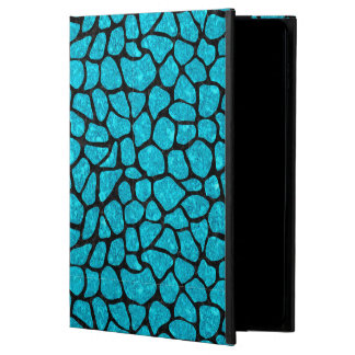 SKIN1 BLACK MARBLE & TURQUOISE MARBLE POWIS iPad AIR 2 CASE