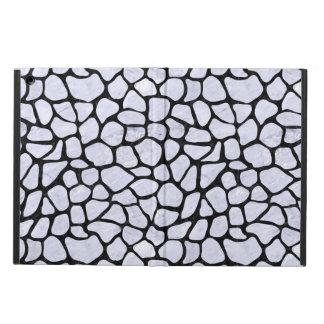 SKIN1 BLACK MARBLE & WHITE MARBLE iPad AIR COVER