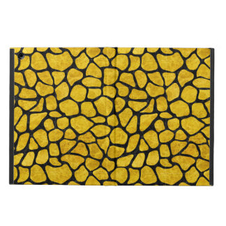 SKIN1 BLACK MARBLE & YELLOW MARBLE CASE FOR iPad AIR