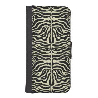 SKIN2 BLACK MARBLE & BEIGE LINEN iPhone SE/5/5s WALLET CASE