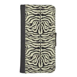 SKIN2 BLACK MARBLE & BEIGE LINEN (R) iPhone SE/5/5s WALLET CASE