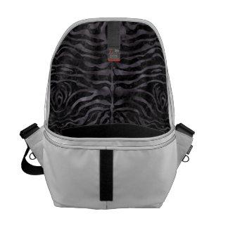 SKIN2 BLACK MARBLE & BLACK WATERCOLOR COMMUTER BAG