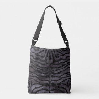 SKIN2 BLACK MARBLE & BLACK WATERCOLOR (R) CROSSBODY BAG