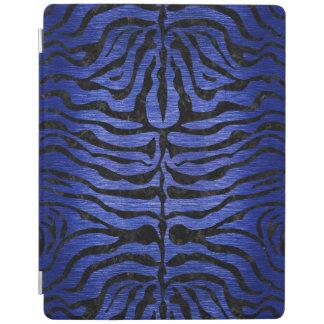 SKIN2 BLACK MARBLE & BLUE BRUSHED METAL (R) iPad COVER