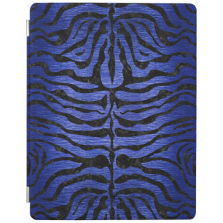 SKIN2 BLACK MARBLE & BLUE BRUSHED METAL (R) iPad SMART COVER