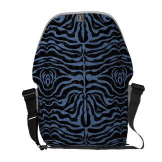 SKIN2 BLACK MARBLE & BLUE DENIM MESSENGER BAGS