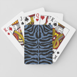 SKIN2 BLACK MARBLE & BLUE DENIM PLAYING CARDS