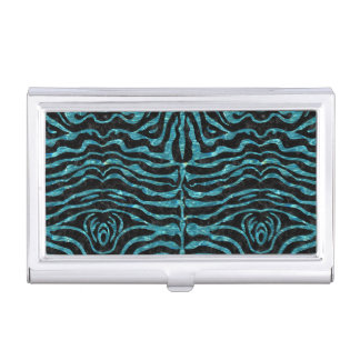 SKIN2 BLACK MARBLE & BLUE-GREEN WATER BUSINESS CARD HOLDER