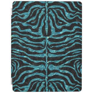 SKIN2 BLACK MARBLE & BLUE-GREEN WATER iPad COVER