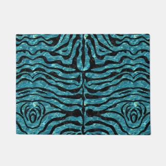 SKIN2 BLACK MARBLE & BLUE-GREEN WATER (R) DOORMAT