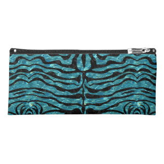 SKIN2 BLACK MARBLE & BLUE-GREEN WATER (R) PENCIL CASE