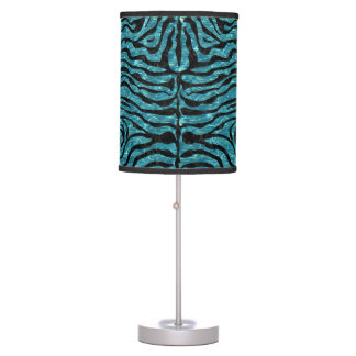SKIN2 BLACK MARBLE & BLUE-GREEN WATER (R) TABLE LAMP