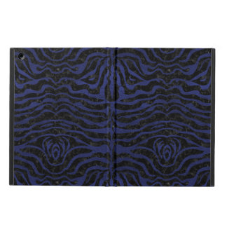 SKIN2 BLACK MARBLE & BLUE LEATHER COVER FOR iPad AIR
