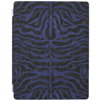 SKIN2 BLACK MARBLE & BLUE LEATHER iPad COVER