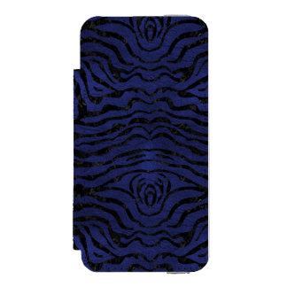 SKIN2 BLACK MARBLE & BLUE LEATHER (R) INCIPIO WATSON™ iPhone 5 WALLET CASE