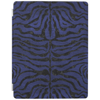 SKIN2 BLACK MARBLE & BLUE LEATHER (R) iPad COVER