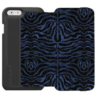 SKIN2 BLACK MARBLE & BLUE STONE INCIPIO WATSON™ iPhone 6 WALLET CASE