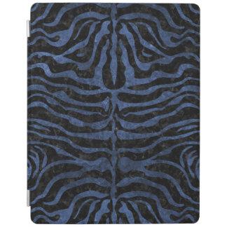SKIN2 BLACK MARBLE & BLUE STONE iPad COVER
