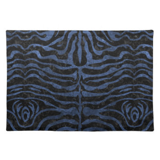 SKIN2 BLACK MARBLE & BLUE STONE PLACEMAT