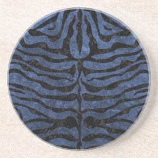 SKIN2 BLACK MARBLE & BLUE STONE (R) COASTER