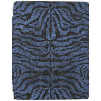 SKIN2 BLACK MARBLE & BLUE STONE (R) iPad COVER