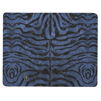 SKIN2 BLACK MARBLE & BLUE STONE (R) JOURNAL