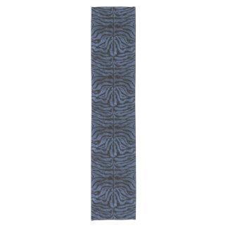 SKIN2 BLACK MARBLE & BLUE STONE (R) SHORT TABLE RUNNER