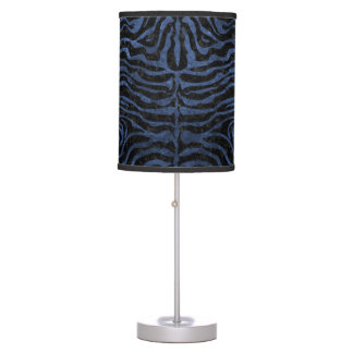 SKIN2 BLACK MARBLE & BLUE STONE TABLE LAMP