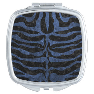 SKIN2 BLACK MARBLE & BLUE STONE TRAVEL MIRRORS