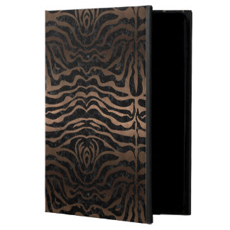 SKIN2 BLACK MARBLE & BRONZE METAL POWIS iPad AIR 2 CASE