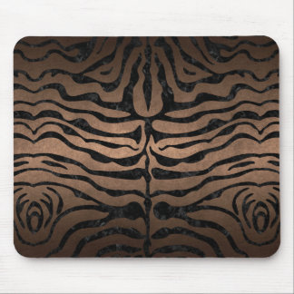 SKIN2 BLACK MARBLE & BRONZE METAL (R) MOUSE PAD