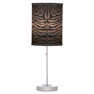 SKIN2 BLACK MARBLE & BRONZE METAL (R) TABLE LAMP