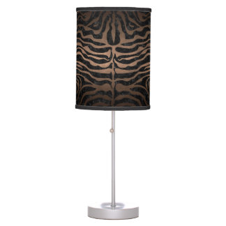 SKIN2 BLACK MARBLE & BRONZE METAL TABLE LAMP