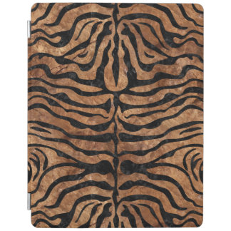 SKIN2 BLACK MARBLE & BROWN STONE (R) iPad COVER